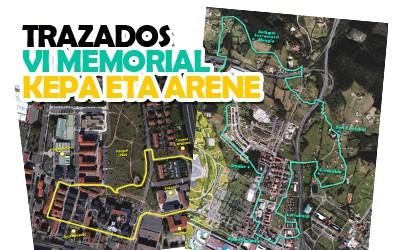 Trazados VI Memorial Kepa eta Arene