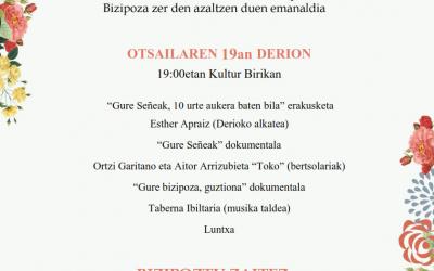 Gure Señeak 10 urte: Docuweb Bizipoza